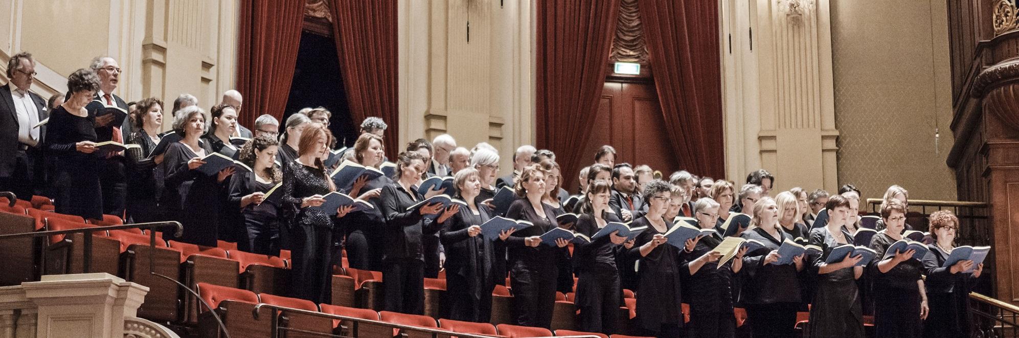 Groot Omroepkoor in Het Concertgebouw (2015) (foto: Hans van der Woerd)